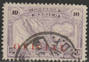 MEXICO O132, 40¢ OFFICIAL. Used. F-VF.