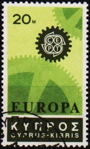 Cyprus. 1967 20m S.G.302 Fine Used