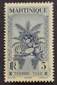 DYNAMITE Stamps: Martinique Scott #J26 – MINT hr