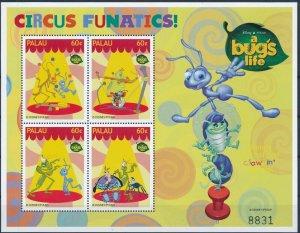 [I725] Palau 1998 Bugs Walt Disney good sheet very fine MNH