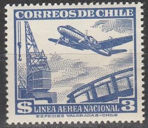 Chile #C160  MNH  (S7190)