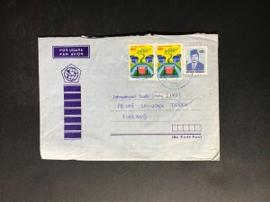 Indonesia #780//B242 Cover to Finland (1970-1999) Cover #2362