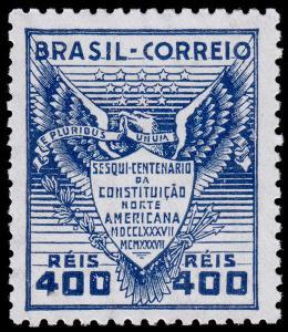 Brazil Scott 451 (1937) Mint LH VF, CV $2.75 C