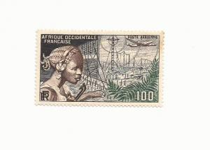 French West Africa 1954 - MNH - #C19