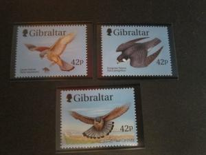 Gibraltar 1999 Sc 812-4 Bird set MNH