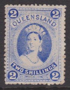 Queensland Sc#79 MH - tanned gum