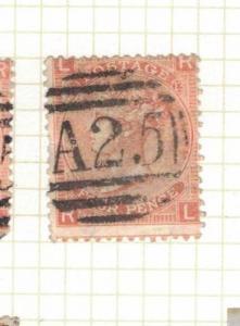Malta GB Used Abroad SG Z49 Plate 13 Item Three VFU (15drv)