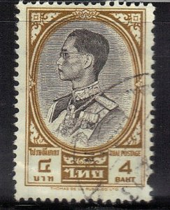 THAILAND  SC# 358A **USED** 4b  1968   SEE SCAN