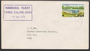 FIJI 1979 First flight cover Vanua Balavu to Suva..........................54981