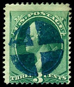 U.S. BANKNOTE CANCELS 147  Used (ID # 42318)