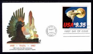 US 1909 Express Mail Eagle Fleetwood U/A FDC