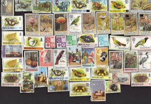 50 All Different SWAZILAND Stamps