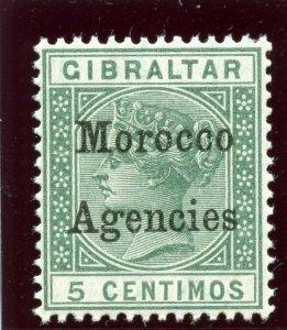 Morocco Agencies 1899 QV 5c green superb MNH. SG 9. Sc 12.