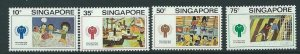 SINGAPORE SG356/9 1979 YEAR OF THE CHILD  MTD MINT