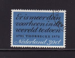 Netherlands 496 Set U Thorbecke Quotation (A)
