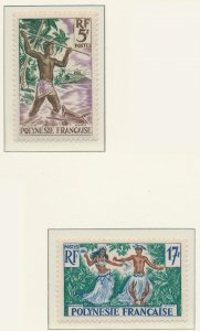 French Polynesia Stamps Scott #193 To 194, Mint Hinged - Free U.S. Shipping, ...