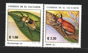 Salvador. 1994. 1961-62 in a series. insects. MNH.