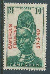 Cameroun, Sc #259, 10c MH