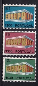 Portugal  #1038-1040  MNH  1969  Europa