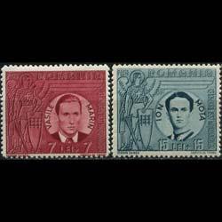 ROMANIA 1941 - Scott# B146-7 Iron Guard Set of 2 NH