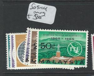 MALAYA MALAYSIA  (P0908B) SG9-14  MOG