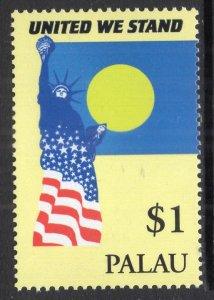 Palau 645 United We Stand Statue of Liberty MNH VF