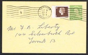 Canada Unitrade Postal Card UX92b