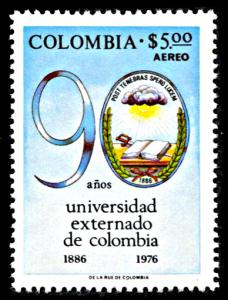 Colombia C630, MNH, 90th Anniversary University of Colombia Day School