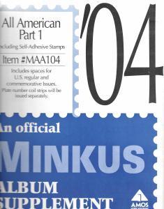 Minkus All American Part 1 MAA104 Supplement 2004