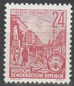 DDR #196 MNH F-VF CV $6.50 (SU4757)