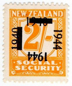(I.B) New Zealand Revenue : Social Security 2/- (1944)