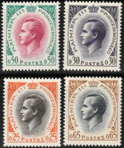 Monaco #462-5 M/NH 45% of SCV $17.35 **FREE SHIPPING**