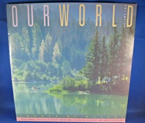 OUR WORLD 1990  -  VOLUME 2 - IMAGES OF NATURE - 6 POSTAL ADMINS.  MNH     (SM5)