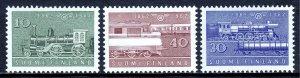 Finland - Scott #388-390 - MH - Hinge bump #389 - SCV $12