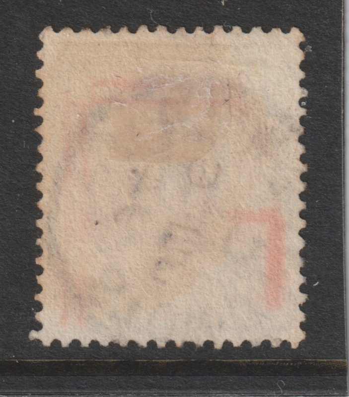 Great Britain a used QV 9d from the Jubilee (1887) set