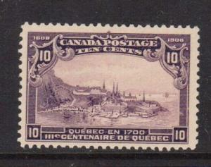 Canada #101 NH Mint  **With Certificate**