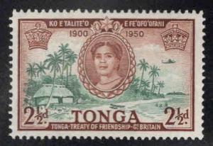 TONGA  Scott 96 MH* stamp