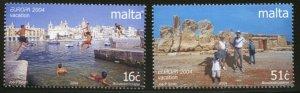 MALTA Sc#1162-3 2004 Europa Mint NH Complete