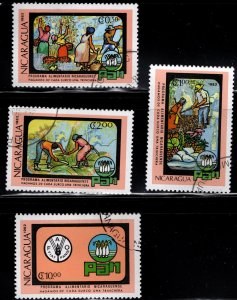 Nicaragua 1982 SC# 1183-1186 (1)