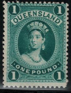Queensland 1886 SC 83 Mint SCV $425.00