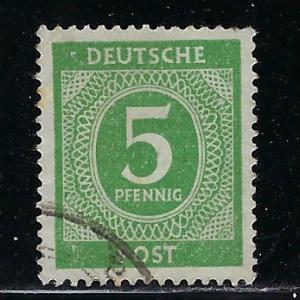 Germany AM Post Scott # 534, used