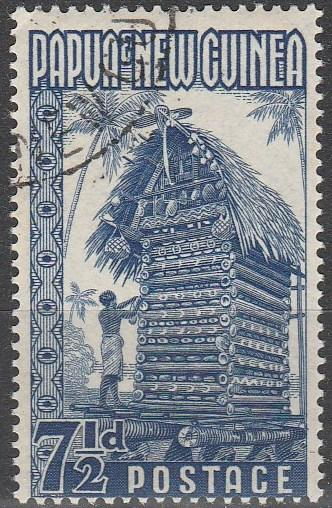 Papua New Guinea #129 F-VF Used CV $2.50 (V247)