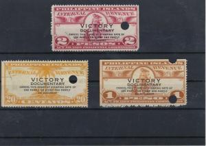 Philippines Internal Revenue Stamps Ref: R5894