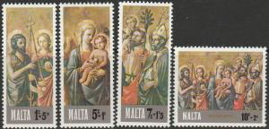 Malta, #B23-B26 Unused Set Of 4,  From 1977