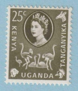 KENYA UGANDA TANGANYIKA 124  MINT NEVER HINGED OG * NO FAULTS VERY FINE!