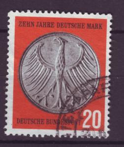 J4302 JLstamps 1958 germany used set/1 #787 eagle