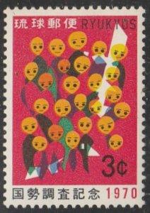 Ryukyu Islands #204 Mint Hinged Single Stamp
