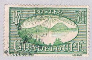 Guadeloupe 105 Used Saints Roadstead 1928 (BP3033)