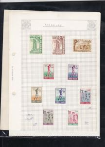 paraguay  1960-65 stamps page ref 18228