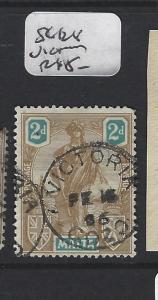 MALTA (P0606B) MELITA 2D  SG 128 VICTORIA GOZO SON CDS   VFU